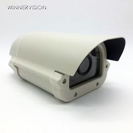 Бесплатная доставка CCTV Box массив светодиодные алюминиевого сплава водонепроницаемый открытый безопасности CCTV камеры корпус