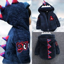 Invierno Encantador Baratos-Lovely Child Hoodie Christmas Child Wearing Ropa de invierno Cheap Girl Boy Warm Wool Outwear Envío gratis en stock Ropa para niños