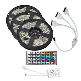 $enCountryForm.capitalKeyWord NZ - 15Meters SMD5050 Waterproof RGB 450 LED Strip Tape Light Kit + 44 Keys Controller + Cable Connect DC 12V