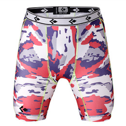 $enCountryForm.capitalKeyWord NZ - Wholesale-Camouflage Compression Short Men's Beach Shorts Male Quick Dry Bermuda Masculina Men's Surf Board Shorts Silver