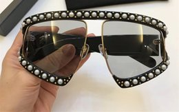 GoGGles frame desiGn online shopping - 0234S Sunglasses Gold Acetate Frame With Popular Design Frame Popular UV Protection Sunglasses Top Quality Fashion Summer Women Style