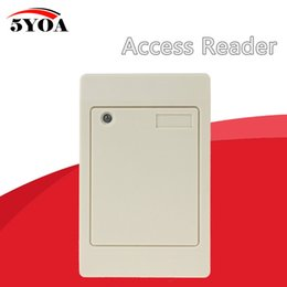 card reader 125khz id NZ - Waterproof 125KHz RFID Contactless Smart Proximity Card Reader Access Control Weigand IP65 EM ID
