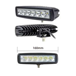 TracTor beam online shopping - 18W LED Off Road Spot Light Lamp Fog Driving SUV Car Truck Trailer Tractor ATV Flood Beam