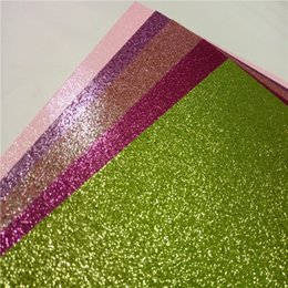 $enCountryForm.capitalKeyWord Canada - High Quality Made Invitation Card Glitter Cards Sock Paper Many Colour Card Making a4 Glitter Paper