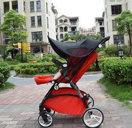 $enCountryForm.capitalKeyWord Canada - Baby Stroller Rag Shade Blocks UV UVB Sun Rays Cover Baby Car Awning RainTent Multifunctional Stroller Protection Accessory