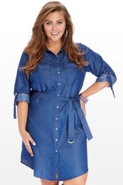 Discount Plus Size Denim Shirts For Women | 2017 Plus Size Denim ...