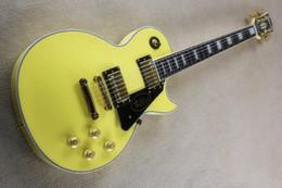 Shop oem online shopping - China guitars Custom Shop Deep milk yellow Electric Guitar OEM guitar Customizable exclusive LOGO