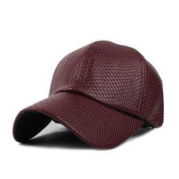 06fdb078203 Winter Leather Baseball Caps Men Canada - Cool!new fashion mens hat  Baseball Cap women