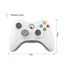 Venta al por mayor de Freeshipping NEW 1 PC controlador de juego de descarga inalámbrica para Microsoft xBox 360 xBox360 blanco