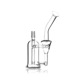 "$enCountryForm.capitalKeyWord UK - Glass Bongs Oil Rigs Cool incline Percs Bongs clear Color Bongs Stand 7.4""Inches Height 14.5mm Joint"