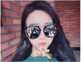 celebrity sunglasses Canada - Shield Oversized Sunglasses Women Celebrity Hip Hop Metal Frame Big Sun Glasses UV400 Male Female Retro Stylish Sunglasses