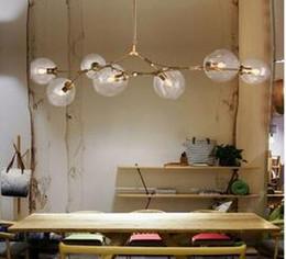 Discount art deco trees - Lindsey Adelman Chandeliers lighting modern lamp novelty pendant lamp natural tree branch suspension Christmas light hot