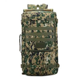 da7854cfc789 75l Hiking Backpack Canada - Big Capacity Outdoor Climbing Bag Unisex  Shoulder Backpack Camouflage ACU Bags