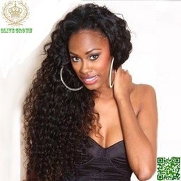 $enCountryForm.capitalKeyWord Canada - Malaysian Human Hair Full Lace Wig Deep Curly Lace Front Wigs Loose Curl With Baby Hair