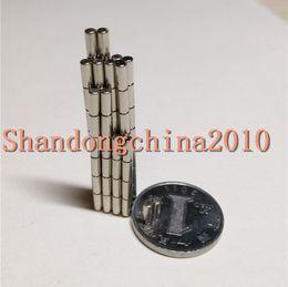 $enCountryForm.capitalKeyWord Australia - Wholesale - In Stock 200pcs Strong Round NdFeB Magnets Dia 2x5mm N35 Rare Earth Neodymium Permanent Craft DIY Magnet Free shipping
