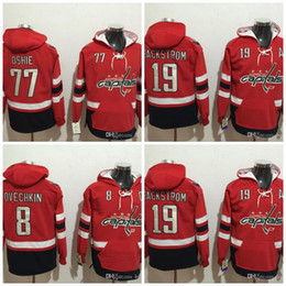 capital jerseys 2019 - 2017 Washington Capitals Hockey Hoodies 8 Alex  Ovechkin 19 Nicklas Backstrom 77 1b67b02c1be1