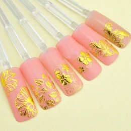 Nails Art Flowers D Online Nails Art Flowers D For Sale - How to make nail decals at home