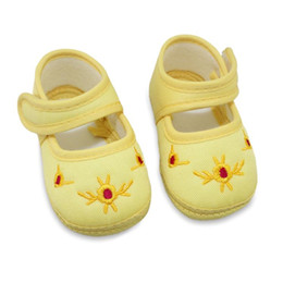 $enCountryForm.capitalKeyWord NZ - Wholesale- New Spring Baby Shoes Kids First Walkers Cotton Skid Proof Sapato Infantil Toddle Girls Boys Shoes