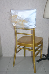 $enCountryForm.capitalKeyWord NZ - 2016 Custom Made 3D Flowers Chair Covers Romantic Beautiful Pearls Chair Sashes Cheap Wedding Chair Decorations 02