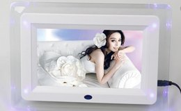 2017 electronic picture frame video brand new 7 Inch Multifunctional HD Digital Photo Frame Electronic Picture Album with Mirror Panel Music Video Ebook Time Alarm cheap electronic picture frame video