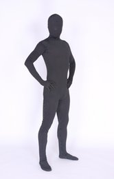 hot women zentai Canada - The new Black little Full Body Spandex Lrcra Hot Sale Zentai Costume Fanny Body Suit