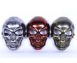 $enCountryForm.capitalKeyWord Canada - Skull MASK Restoring ancient ways Tactical Masks Hunting Halloween Motorcycle Outdoor Military Wargame Paintball Protection Mask DHL 500pcs