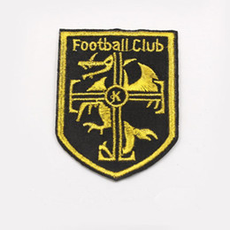 $enCountryForm.capitalKeyWord UK - Football Club K Sports badge Iron on Embroidered patch Gift shirt bag trousers coat Vest Individuality