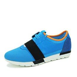 Venta al por mayor de Los hombres de alta calidad del diseñador de la marca de lujo Shose moda para hombre zapatillas con cordones de los hombres zapatos casuales Zapatillas zapatos en línea tienda de zapatos Homme 3 color