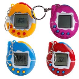 hot electronic christmas gifts 2018 new hot mixed colors tamagotchi toys with button cell retro - Cool Electronic Christmas Gifts