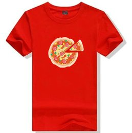 food t shirts Australia - Pizza T shirt Pizzeria shop worker short sleeve gown Nice food tees Leisure printing clothing Unisex cotton Tshirt