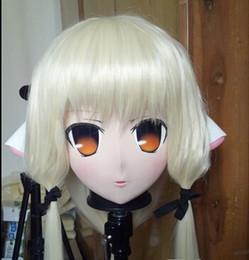 $enCountryForm.capitalKeyWord Canada - (C2-066)2016 KIG Female Silicone Rubber Face Masks Full Head with Wig Cosplay Kigurumi Mask Crossdresser Doll Anime Role Play