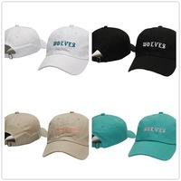 23830085334 New Design Yeezus 6 panel God hats Kermit Kanye West Heart break album bear dad  hat Wolves casquette POLOs baseball cap Free shipping