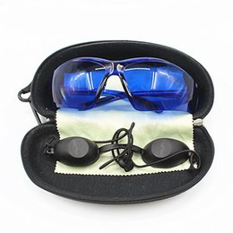 13547fadb30 IPL safety glasses eye protection red laser safety goggles Medical Light  Patient Protective E light eyecup for OPT Beauty