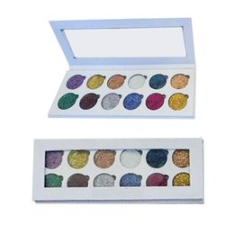 Discount big makeup sets - New Big Brand Glittereyes Eyeshadow Pressed Glitter Palette 12Colors Makeup Eye Shadow DHL free shipping