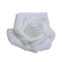 $enCountryForm.capitalKeyWord UK - Wholesale- 100PCS Foam Rose Flower Bud Wedding Party Decorations Artificial Flower Diy Craft White