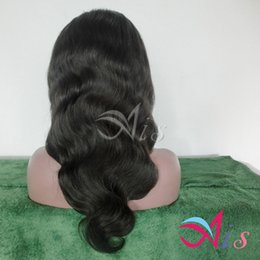 Glueless full lace indian 12 online shopping - 7A Human Hair Wigs Glueless Full Lace Wig Front Lace Wig Body Wave Natural Black Brazilian Remy Hair Wigs With Baby hair