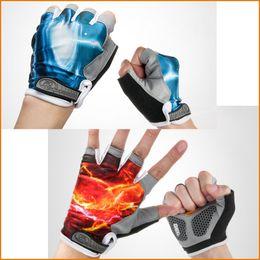 Summer Bikes Canada - Cycling Gloves Half Finger Mens Women's Summer Bike Bicycle Gel Gloves Sport Mountain Bike Riding Gloves M-XL