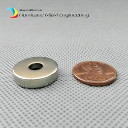 $enCountryForm.capitalKeyWord Australia - 48pcs Countersunk Hole Magnet about Diameter 20x5mm Thick M5 Screw Countersunk Hole Neodymium Rare Earth Permanent Magnet