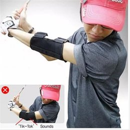 Golf equipment traininG aids online shopping - Golf Training Aid Swing Straight Practice Golf Elbow Brace Corrector Support Arc Golf Equipment c128 c135