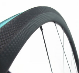 full cycle bikes NZ - 700x23C 30mm depth super light weight full carbon bike tubular road bicycle wheelset for cycling freeshipping now