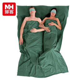 NH Double Summer Sleeping Bag Liner Inner Bags Portable Large Size Outdoor Camping Hotel Usage 220cm160cm