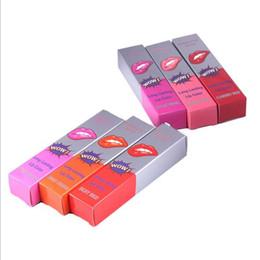 $enCountryForm.capitalKeyWord Australia - Long Lasting WOW Women Makeup Peel Off Lipstick Romantic Bear Tint Lip Colors Full lips Tatto Waterproof Lip Gloss Mask with Resale Box