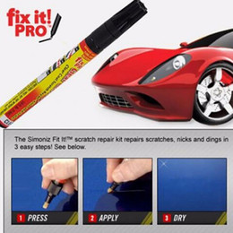 Car Paint Scratch Repair Canada - New Fix it PRO Car Coat Scratch Cover Remove Painting Pen Car Scratch Repair for Simoniz Clear Pens Packing car styling car care