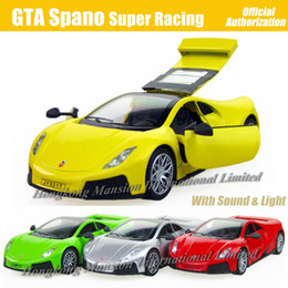 $enCountryForm.capitalKeyWord Canada - 1:32 Scale Diecast Alloy Metal Espana Super Racing Car Model For GTA Spano Collection Model Pull Back Toys Car With Sound&Light