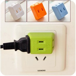 Wholesale Wireless Expansion Socket Converter Adapter Home Supply Mini IN Multi function Mini US Power Plug Adapters