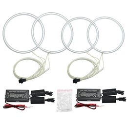 Discount headlight corolla - LEEWA 4PCS Car CCFL Angel Eyes Light Halo Rings Kits Headlight For Toyota Corolla 01-04 DRL Car Styling #4844