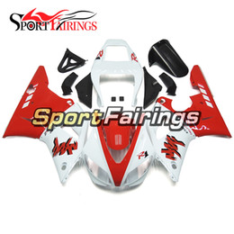 $enCountryForm.capitalKeyWord UK - Full Fairings For Yamaha YZF 1000 R1 98 - 99 1998 1999 YZF-R1 1998 1999 ABS Motorcycle Fairing Kit Bodywork Cowlings White Red Black Covers