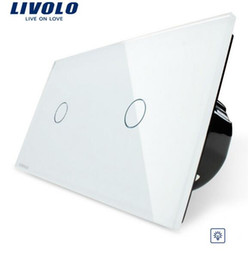 LivoLo switch dimmer online shopping - livolo wall Switch Ivory White Dimming Touch Screen Control Tempered Glass Panel Light Wall Home Switch VL C701D VL C701D
