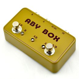 Make Switches Canada - NEW TTONE Hand made ABY selector Combine pedal Guitar Switch Box  TRUE BYPASS! Amp   guitarra pedal AB Y