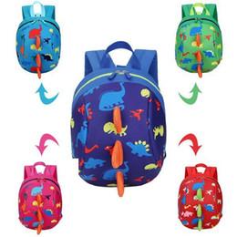 afbaad67fd62 Dinosaur Kids Bags Backpack Cute Cartoon Animal Printing Children Backpacks  for Boy Girls Kindergaden School Backpacks